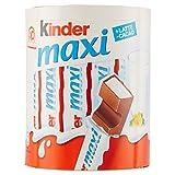 Kinder Maxi Tavolette Cioccolato al Latte - 10 Pezzi, Totale: 210 g