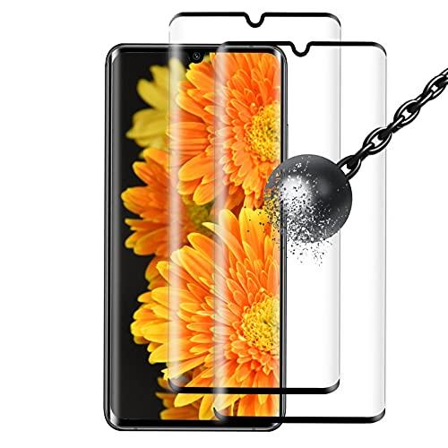 [2 Stück] Panzerglas Schutzfolie kompatibel mit Xiaomi Mi Note 10/Note 10 Pro, 9H Festigkeit, Blasenfrei,Kratzfest, Anti-Öl, Einfacher Montage, Panzerglasfolie für Xiaomi Mi Note 10/Note 10 Pro, Schwarz