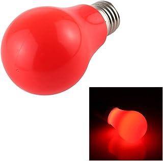 Artículos para el hogar Utensilios de Cocina Ahorro de energía E27 Bulb7W 2835 8LEDs Flicker Free LED, luz de Color: Rojo, AC 85-265V