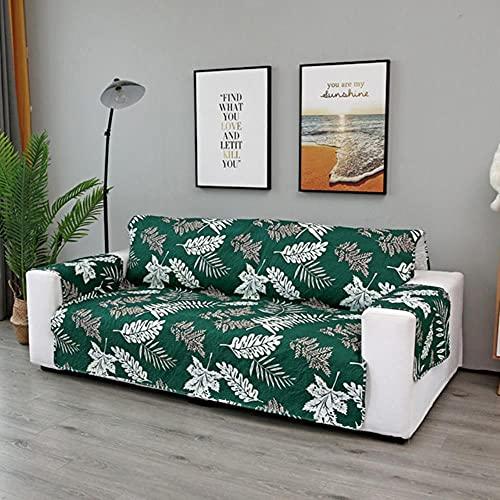 JIAYAN 1/2/3 Fundas de sofá de Asiento para Sala de Estar Funda de sofá Silla Throw Pet Dog Kid Mat Protector de Muebles Reposabrazos Reversible Fundas-P, 2 plazas 130-195cm, ESPAÑA