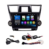 Android 9.1 Autoradio Car Navigation Stereo Multimedia Player GPS Radio 2.5D IPS Touch Screen for Toyota Highlander 2008-2013