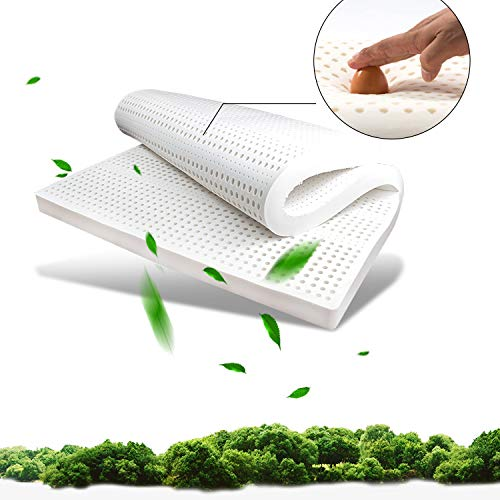 WSN 2In Egg Crate Gel Memory Foam Mattress Topper - Twin, Mattress Pad Provides Great Pressure Relief, Gel Infusion Contributes To A Cooler Night Sleep