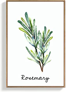 SIGNFORD Framed Canvas Wall Art for Living Room, Bedroom Rosemary Canvas Prints for Home Decoration Ready to Hang - 16x24 ...