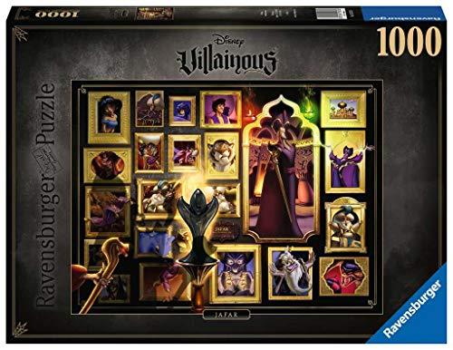 Ravensburger - Puzzle Villainous: Jafar, 1000 piezas, Disney (15023)