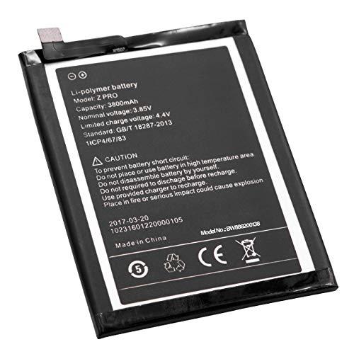 vhbw Li-Poly batteria 3800mAh (3.85V) per cellulari e smartphone UMIDIGI UMi Z Pro