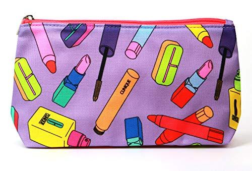 Clinique Purple Cosmetic Bag - NEW