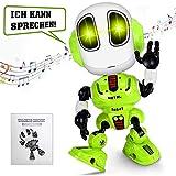 ZZAZXB Juguete Robot Multifuncional para Niños, Modelo de Robot Interactivo Inteligente conLuz de Voz y Música, Regalo para Niños y Niñas Mayores de 3 Años
