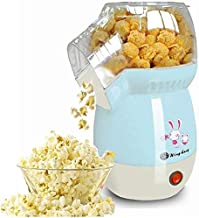 Hot Air Poppers, 1100W Electric Popcorn Maker, BPA-Free, Low Fat, No Oil Needed, Fast Popcorn Machine for Home, Family, Kids