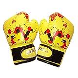 NAMYA - Guantes de boxeo ergonómicos para niños y niñas, para boxeo, para muay thai, a prueba de golpes, de piel sintética, para...
