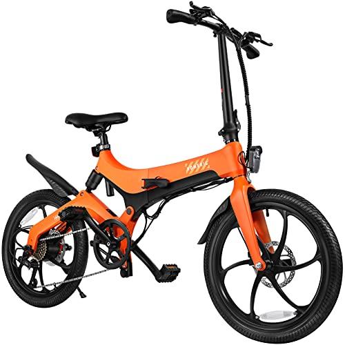 Veemoon Bicicleta Eléctrica Plegable para Hombres Y Mujeres
