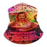 Yuanmeiju Cream Band Pañuelo Polaina del cuello Shield Face Scarf Pañuelos Scarf Windproof for Men & Women