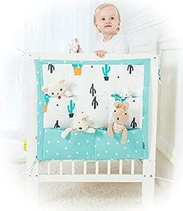 Jenny Ben 9-pocket head bag pendant storage bag baby room nursery supplies clothing diapers toys storage bags