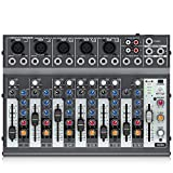 Behringer Xenyx 1002B Premium 10-Input 2-Bus Mixer with XENYX Preamps, British EQs and Optional...