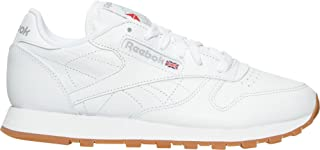 リーボック シューズ スニーカー Women's Reebok Classic Leather Gum Casua White/Gum 26w [並行輸入品]