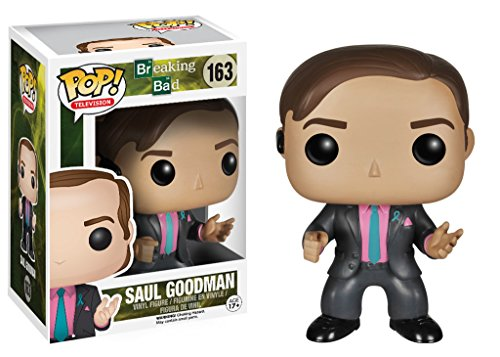 Elbenwald Funko POP Fernsehen (Vinyl): Breaking Bad Saul Goodman Action-Figur Funko POP Television (Vinyl): Breaking Bad Saul Goodman Action Figure