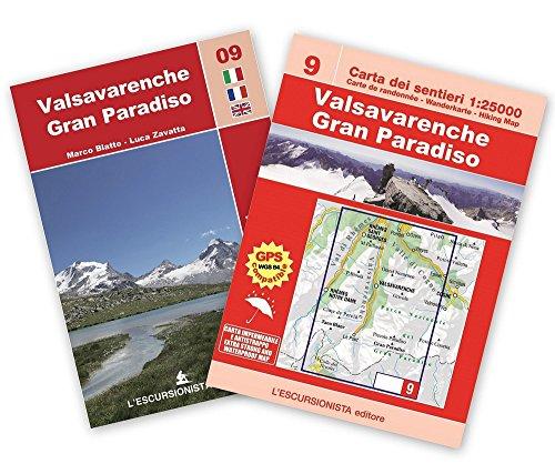 Valsavarenche, Gran Paradiso. Con carta. Ediz. multilingue