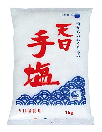 日本海水 天日手塩 袋1kg