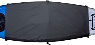 Explore Land Universal Kayak Cockpit Drape Waterproof Seal Cockpit Cover for Indoor and Outdoor
