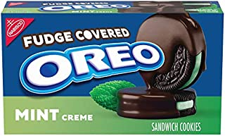 Oreo Fudge Covered Mint Cookies, 9oz. Package