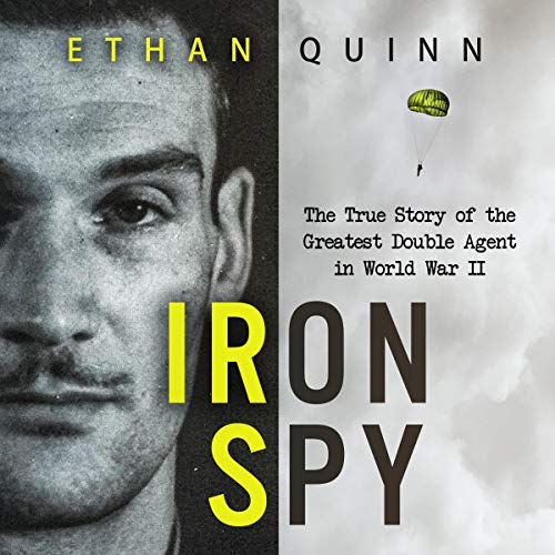 Iron Spy audiobook cover art