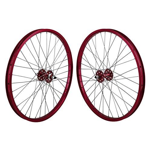 "SE 24"" BMX Wheelset 24 RED"