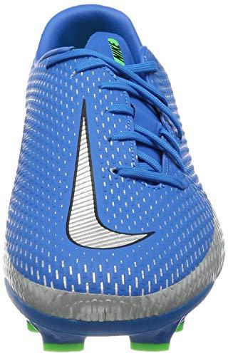 Nike Phantom GT Academy FG/MG, Zapatillas de ftbol Unisex Adulto, Photo Blue Mtlc Silver Rage Green Black, 41 EU