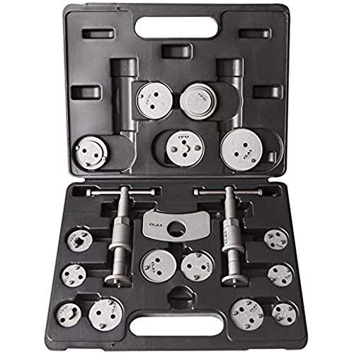 """CLAS Equipements - Kit Repousse Pistons - 18 Pièces - Adaptateur 3/8"""" - OM 8054BL"""