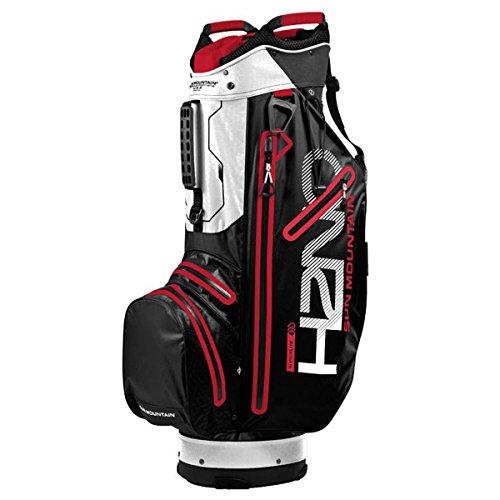 Sun Mountain SUM18HSLC Sac de Golf Mixte Adulte, Noir/Rouge