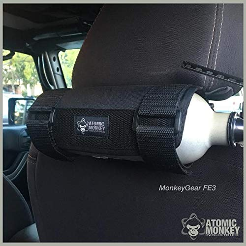 AMI Seat Back Fire Extinguisher Holder, Toyota Tacoma/4Runner, by Atomic Monkey Industries