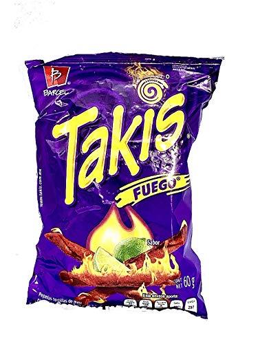 Takis Fuego Corn Snacks 62g