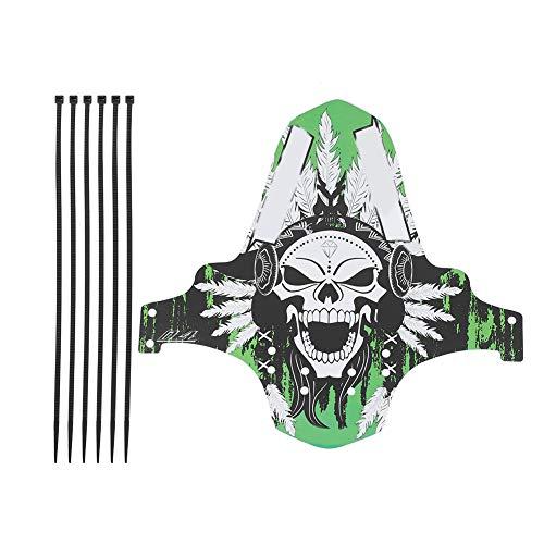 SolUptanisu Fahrrad Schutzblech Mudguard, Mountainbike Schutzbleche Fender MTB Rennrad Schmutzfänger Kotflügel vorne hinten mit Befestigungsgurt(F02)