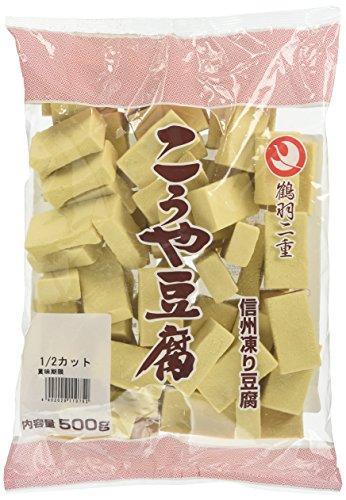 登喜和冷凍食品 鶴羽二重高野豆腐1/2カット 500g