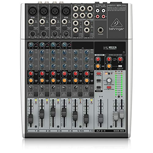 Behringer Xenyx 1204USB Premium 12-Input 2/2-Bus Mixer. Buy it now for 210.50