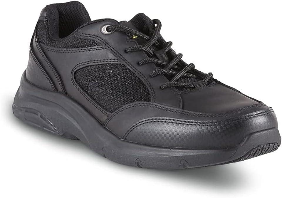 YUKE Men's Slip-Resistant Work Shoes - 212443-Black
