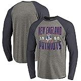 YUNMO Entraînement de Rugby T-Shirt Casual Sweat-Shirt à Manches Longues New England Patriots (Size : XXL)