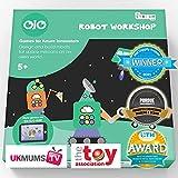OjO Robot Workshop, un Juego de Ciencia para niños. Diseño y construcción de Robots para niños....