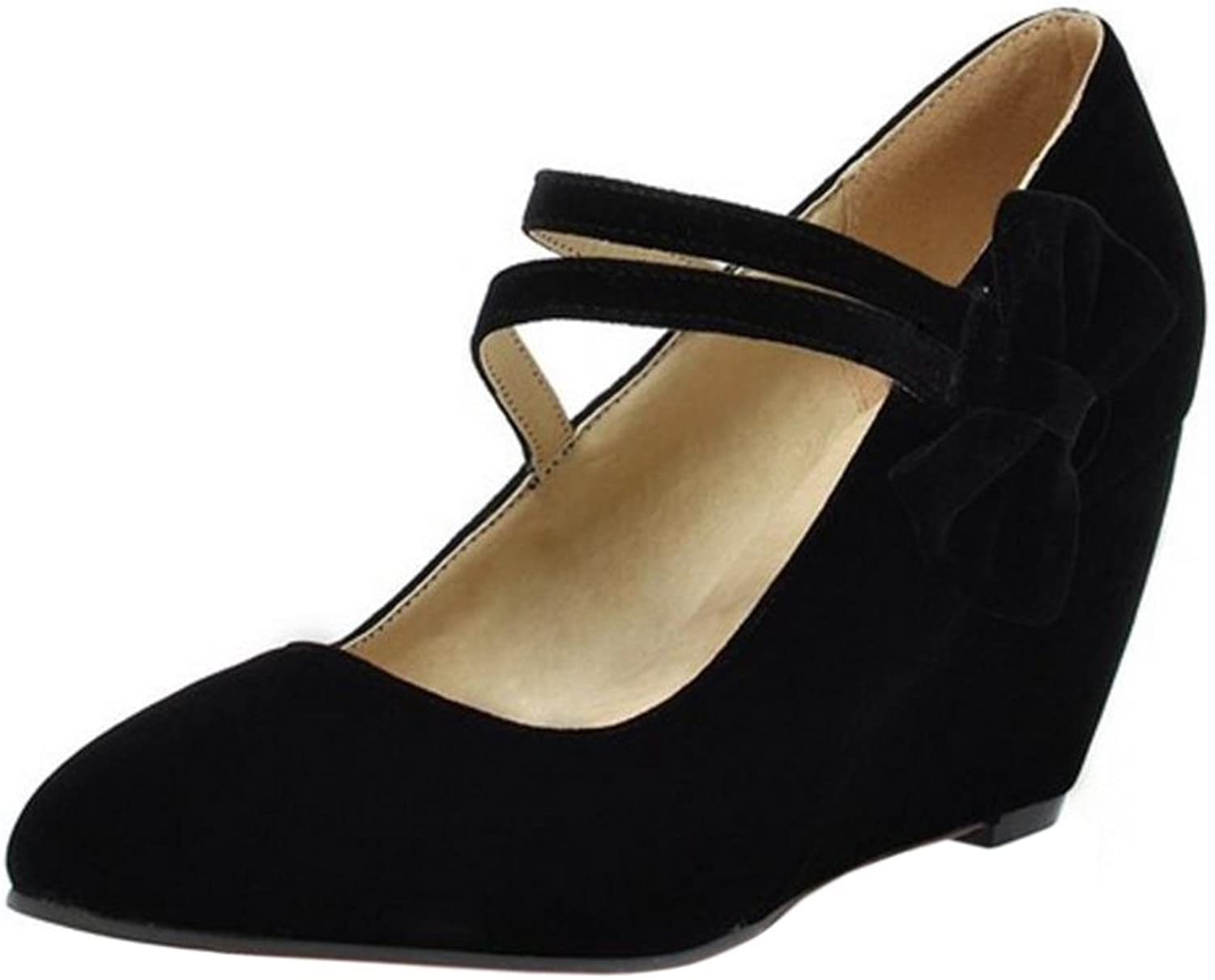 CarziCuzin Women Wedge Heel Pumps