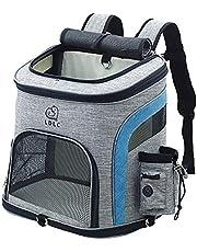 OMEM Rugzak voor huisdieren, outdoor, honden, rugzakken voor huisdieren, verstelbare rugzak voor kleine honden en katten