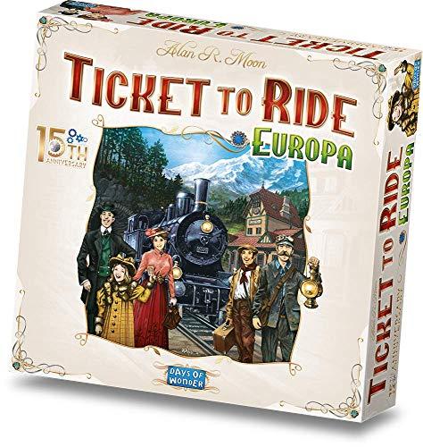 Asmodee - Ticket to Ride: Edizione Speciale 15° Anniversario, Gioco da Tavolo, Edizione in Italiano, 8521