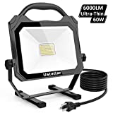 Ustellar 50W LED Work Light Ultra-Thin (400W Equivalent),...
