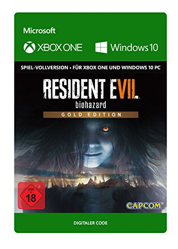 RESIDENT EVIL 7 biohazard Gold Edition | Xbox One/Win 10 PC - Download Code
