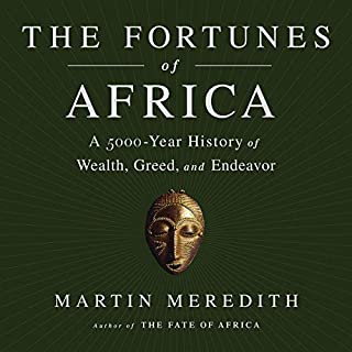 The Fortunes of Africa audiobook cover art