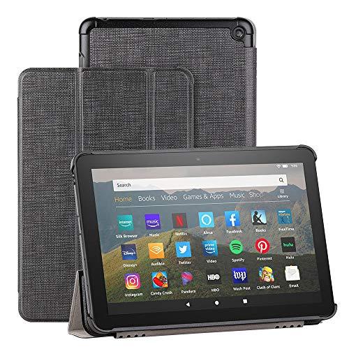 Foluu - Funda para tablet Kindle Fire HD 8 y Fire HD 8 Plus (versión 202020)