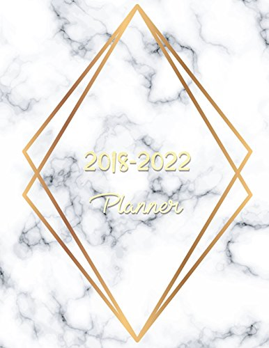 2018 - 2022 Planner: Agenda Planner For The Next Five Years, 60 Months Calendar,Monthly Schedule Organizer |Appointment Notebook, Monthly Planner, ... (2018-2022 five year planner) (Volume 5)