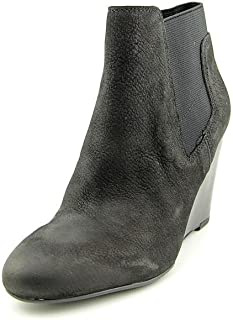 Franco Sarto Octagon Womens Wedge Ankle Booties