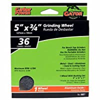 ALI INDUSTRIES 6027 Coarse Grind Wheel 5-Inch x 3/4-Inch x 1-Inch [並行輸入品]