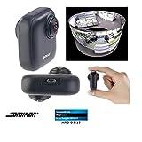 Somikon 360 Grad Kamera: 360°-Panorama-Kamera für Android-OTG-Smartphones, 2K, YouTube Live (Webcam Weitwinkel)