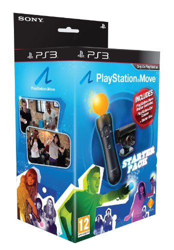 Preisvergleich Produktbild PlayStation 3 - PlayStation Move Starter Pack with PlayStation Eye Camera,  Move Controller and Starter Disc [UK Import]