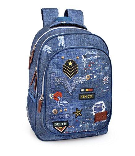 El Charro 3 pockets teenage backpack