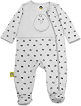 Nested Bean Zen Footie Pajama Classic - Gently Weighted, Long Sleeved, 100% Cotton